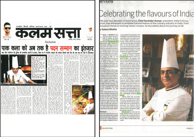 'Celebrating the Flavors of India'